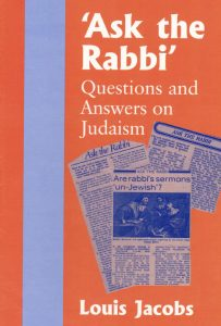 Ask the Rabbi